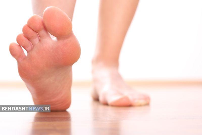 علت سوزش و گزگز کف پا چیست؟