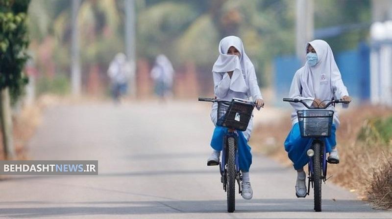 هشدار؛ کودکان خود را در معرض آلودگی  هوا قرار ندهید