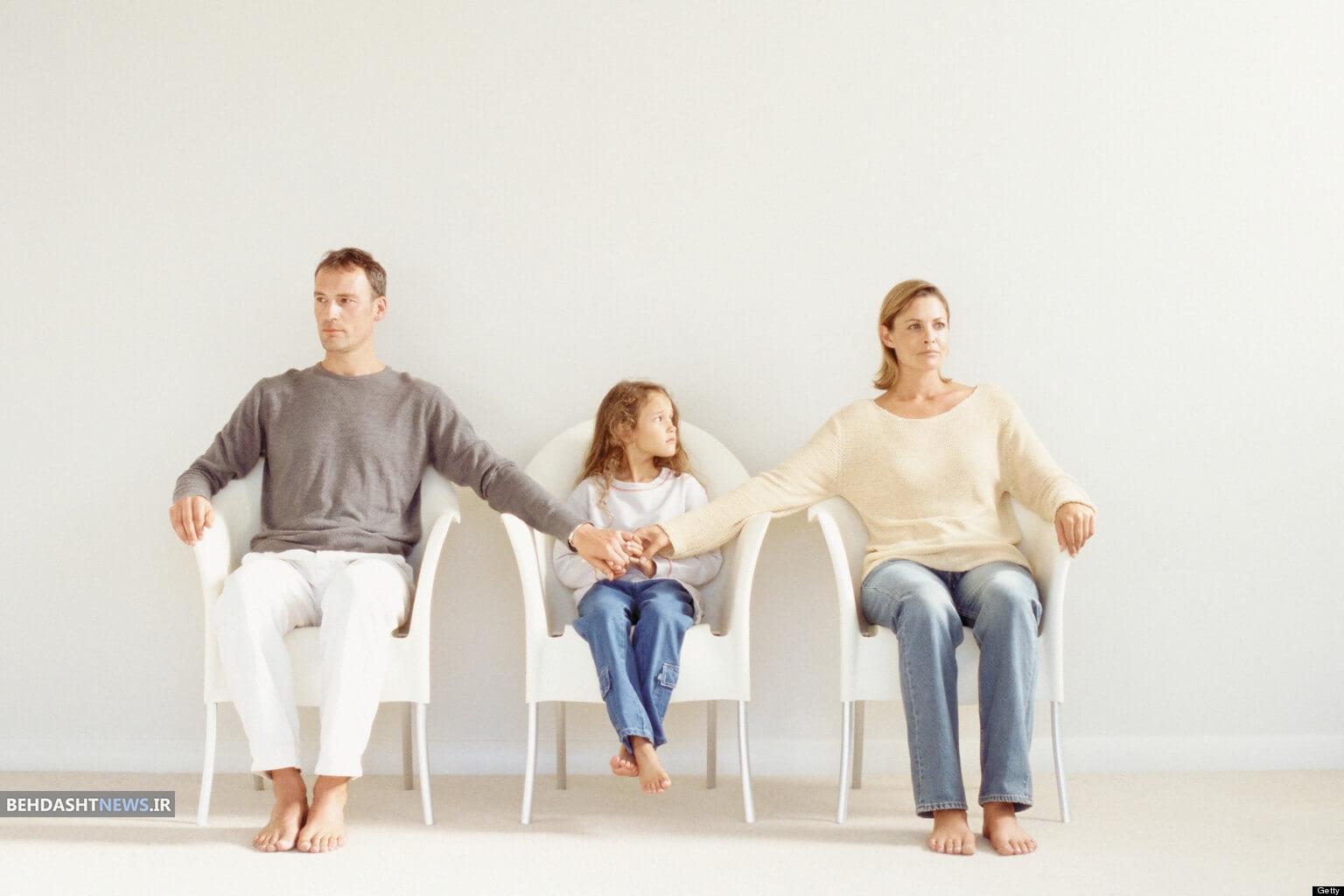 بعد از طلاق با کودکم چگونه رفتار کنم؟