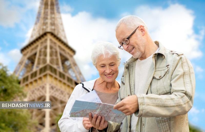 نکاتی که افراد سالمند در مسافرت باید رعایت کنند