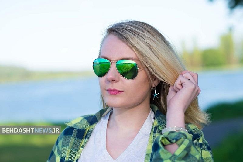 اگر میگرن دارید عینک آفتابی سبز بزنید!