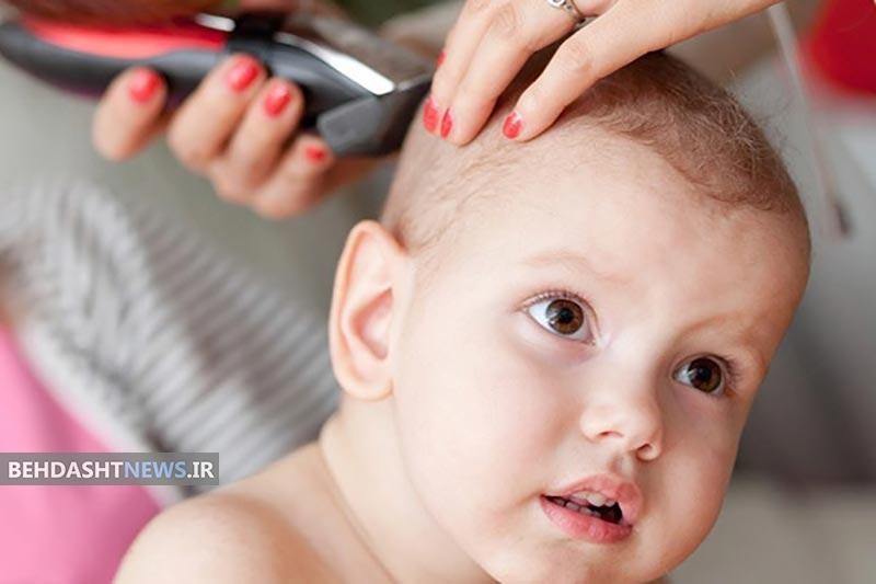 آنچه درباره تراشیدن سر نوزادان لازمست بدانید