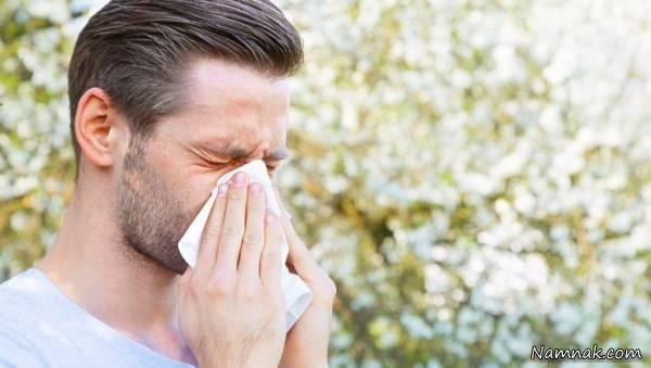 علائم آلرژی در تابستان