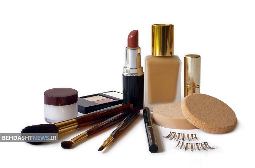 عوارض خطرناک مصرف لوازم آرایشی قاچاق و تقلبی
