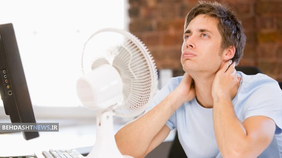 چرا در مقابل باد کولر سردرد می گیریم ؟