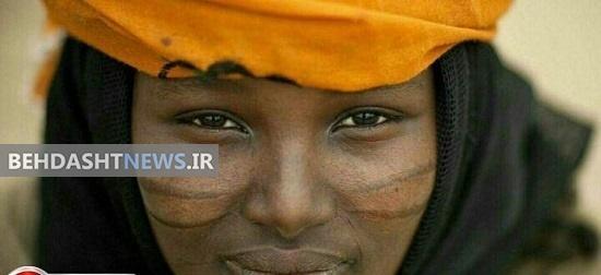 آرایش دختران آفریقایی با تیغ+عکس