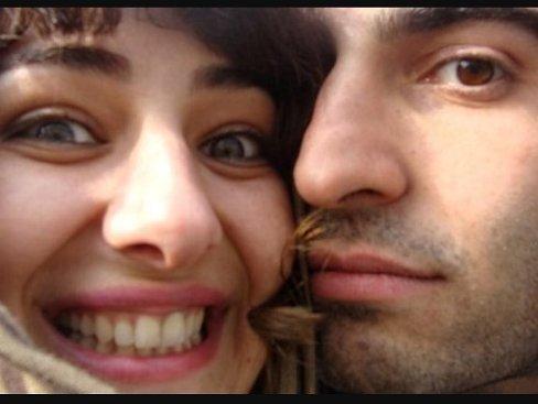 سلفی خنده دار ویدا جوان و همسرش