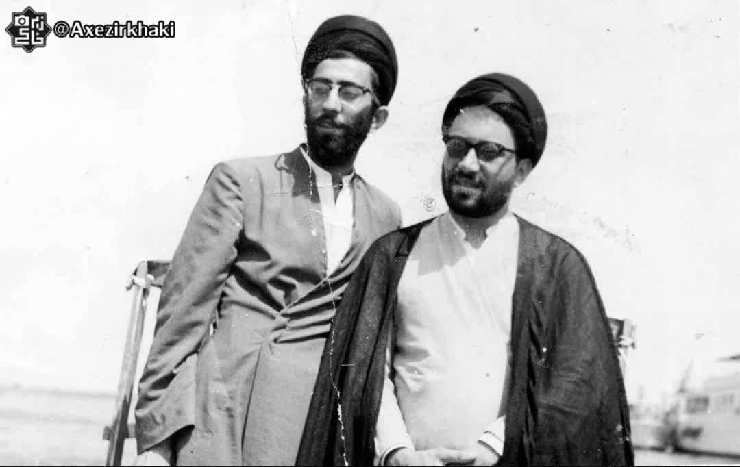 تصویری از  رهبر انقلاب در دوران جوانی