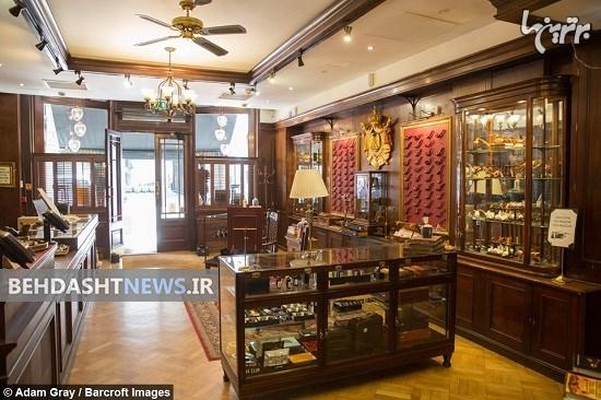 قدیمیترین و لوکسترین سیگارفروشی دنیا +عکس