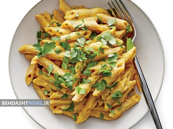 ارزش غذایی پاستا با سس نخود + روش تهیه