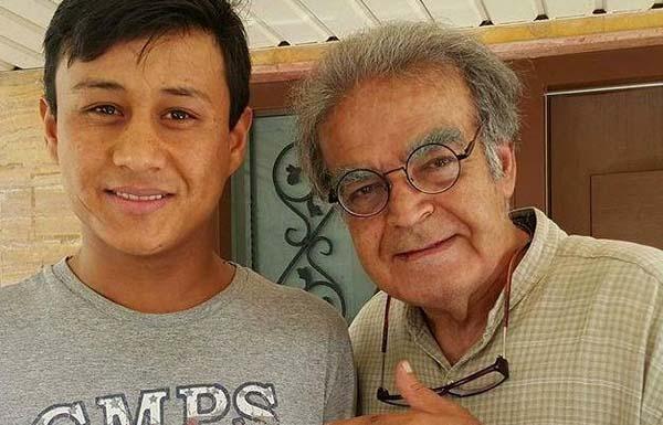 «حمید لولایی» در کنار پسر «جکی چان» + عکس