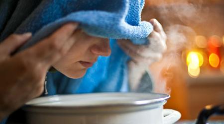 استفاده طولانی از بخور گرم مضر است