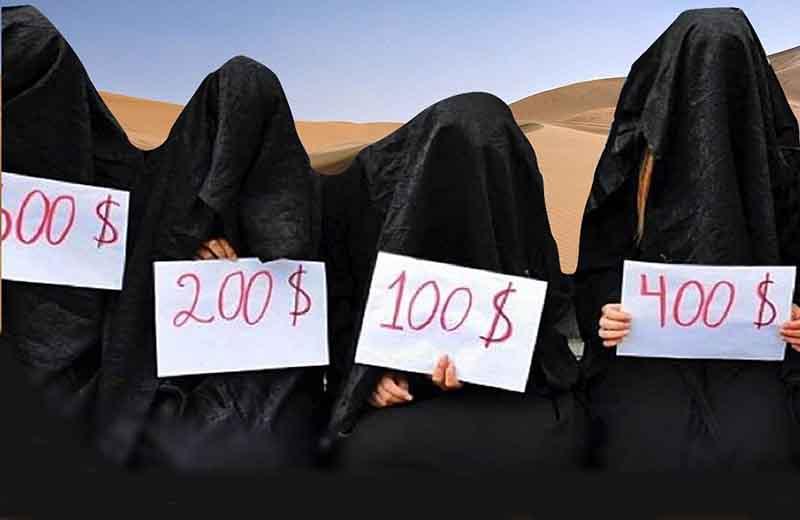 خرید و فروش برده جـنسى در داعش + عکس