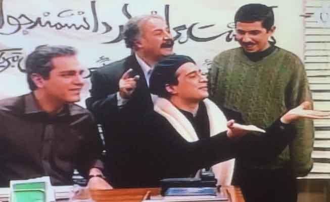 مهران مدیری و جواد رضویان 16 سال پیش + عکس