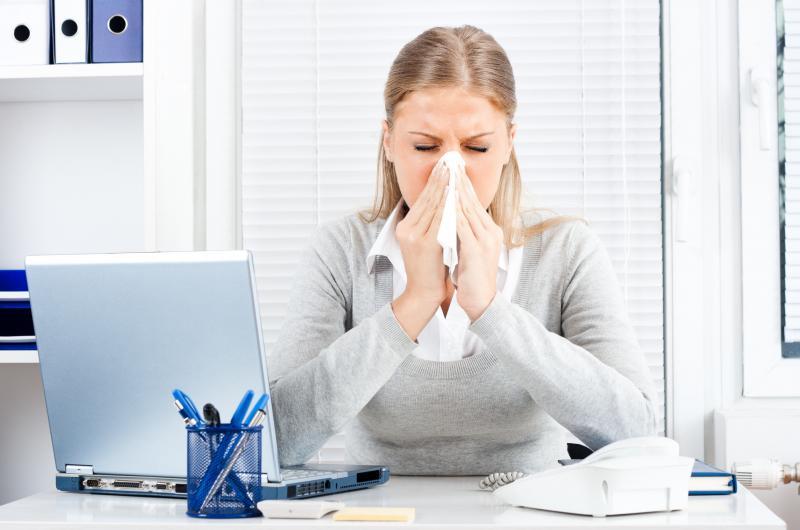 عفونت های سینوسی وابتلا به  افسردگی