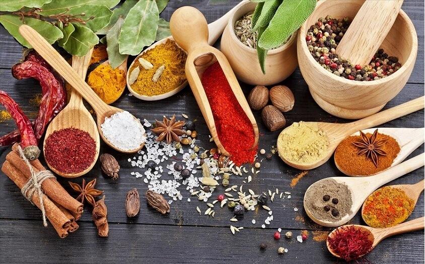 ادویه هایی با بیشترین میزان ویتامین ها و آنتی اکسیدان ها!
