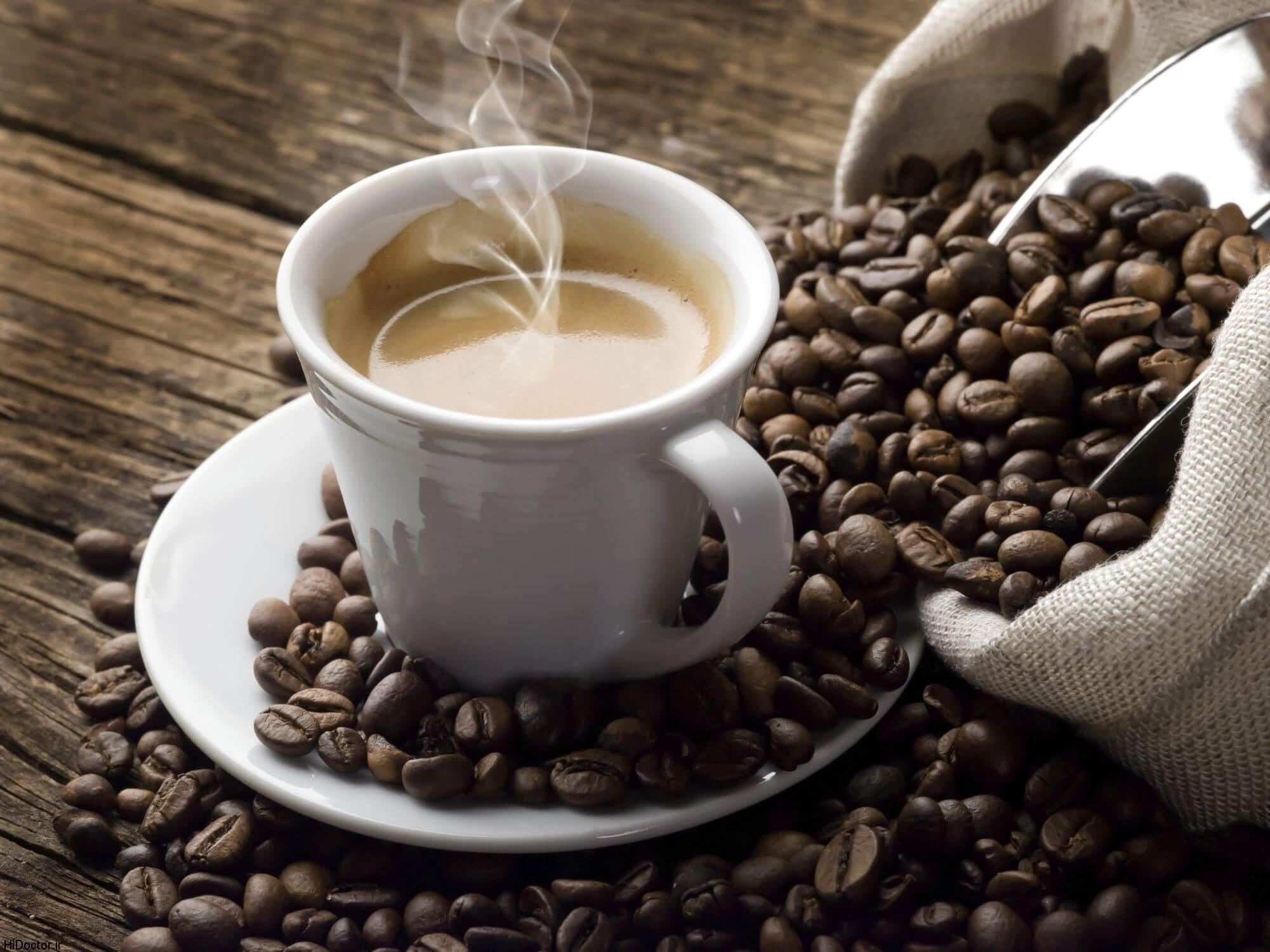 خواص قهوه در بهبود افسردگی و افزایش سطح هوشیاری