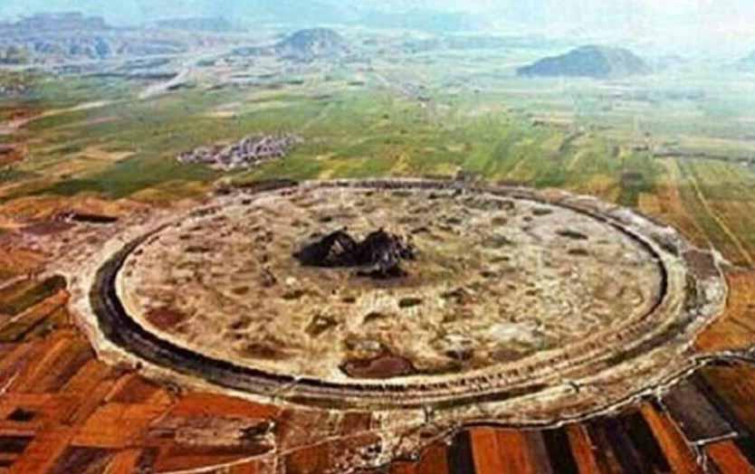 اولین شهر دایرهای ایران و جهان + عکس