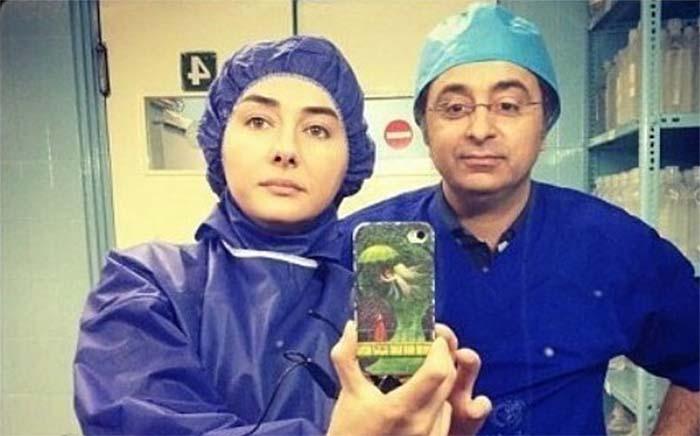 هانیه توسلی در یک تیپ متفاوت! + عکس