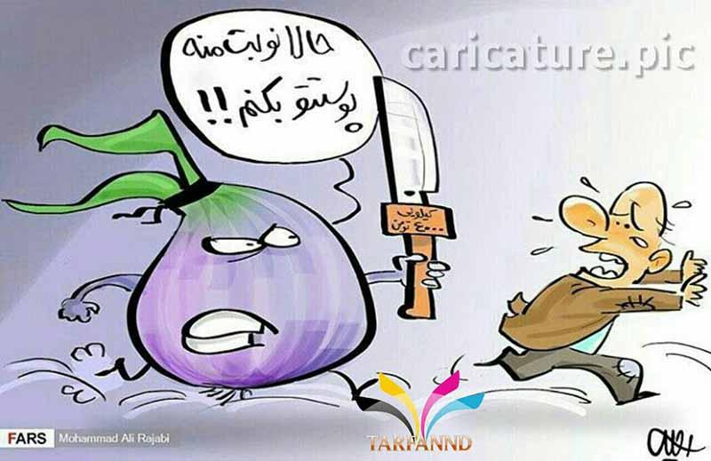 اندر احوالات قیمت پیاز! /کاریکاتور