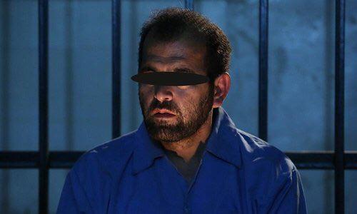 تصویری از قاتل آتنا اصلانی در زندان (+عکس)