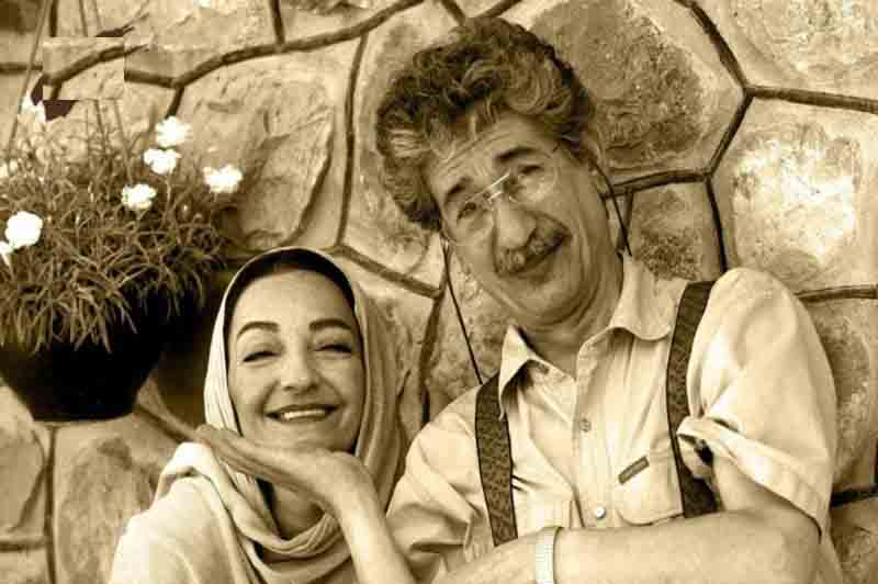 آقای حکایتی به همراه همسرش + عکس