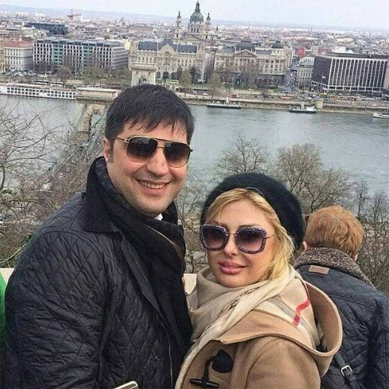 تیپ نیوشا ضیغمی و همسرش در خارج از کشور + عکس