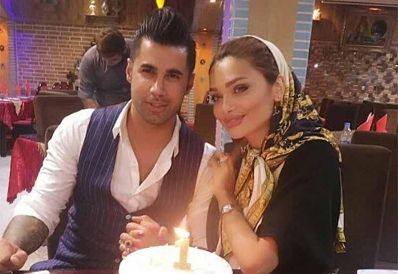 سالگرد ازدواج محسن فروزان و همسر جنجالی اش + عکس