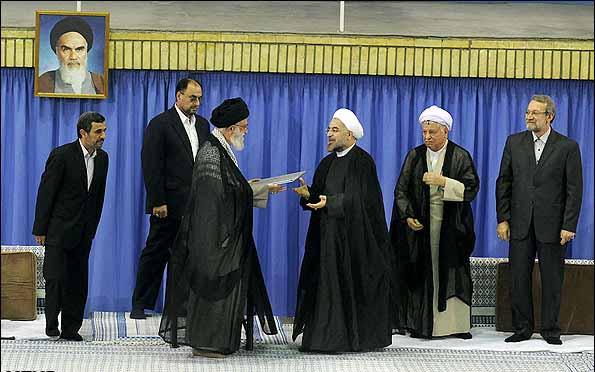 متن حکم تنفیذ رئیس جمهور دوازدهم + عکس