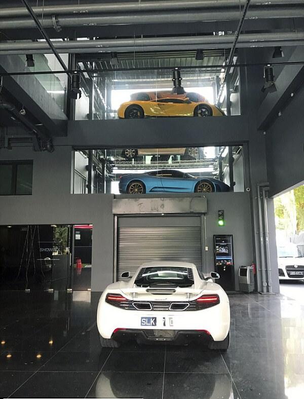 تحویل خودروهای لوکس دو دقیقه پس از سفارش + تصاویر