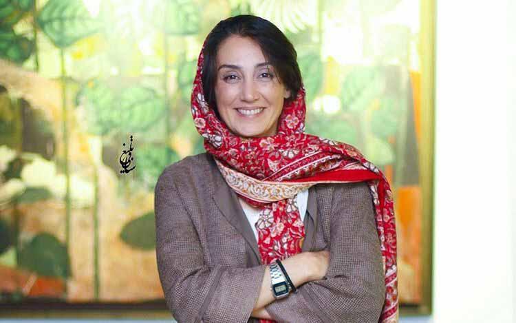 تیپ متفاوت هدیه تهرانی در یک نمایشگاه + عکس