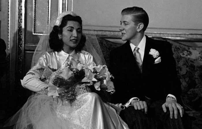 ازدواج جنجالی دختر رضاشاه با یک مرد آمریکایی + عکس