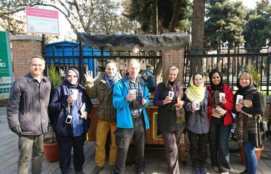 خیابان سی تیر؛ استریت فود تهران