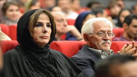 عکس/ پدر و مادر عسل بدیعی در یک مراسم