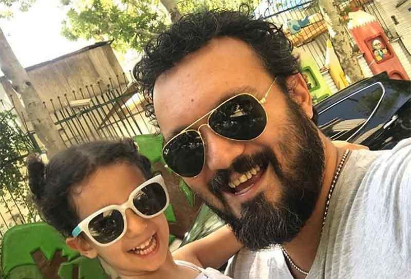 تصویر منتشر شده از کامبیز دیرباز به همراه دخترش (+عکس)