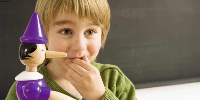 حرف دروغ را نباید از بچه شنید!
