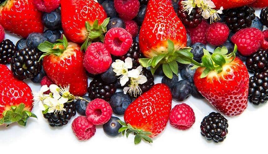 میوه ها و سبزیجات آنتی اکسیدانی