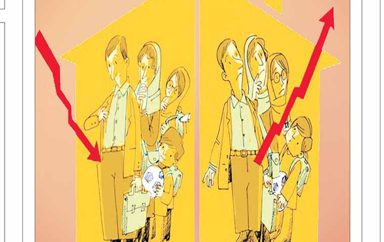 ۲ تصویر از جیب خانواده ایرانی! + کاریکاتور