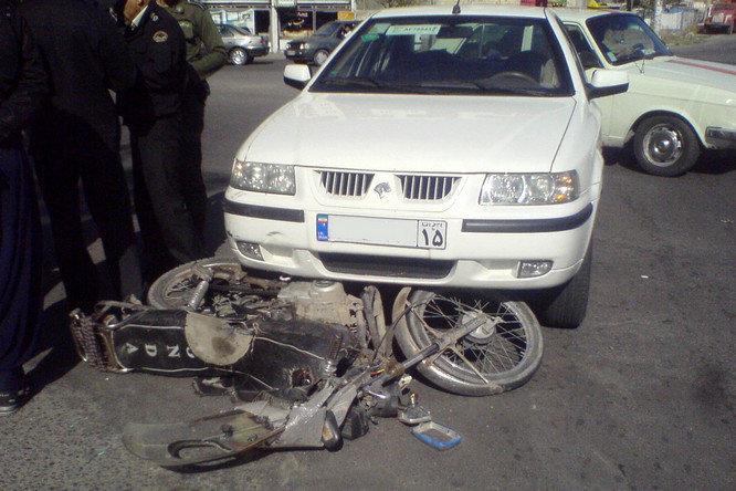 ایران، کشور هشتم در حوادث ترافیکی