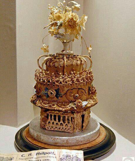 قدیمی ترین کیک عروسی جهان