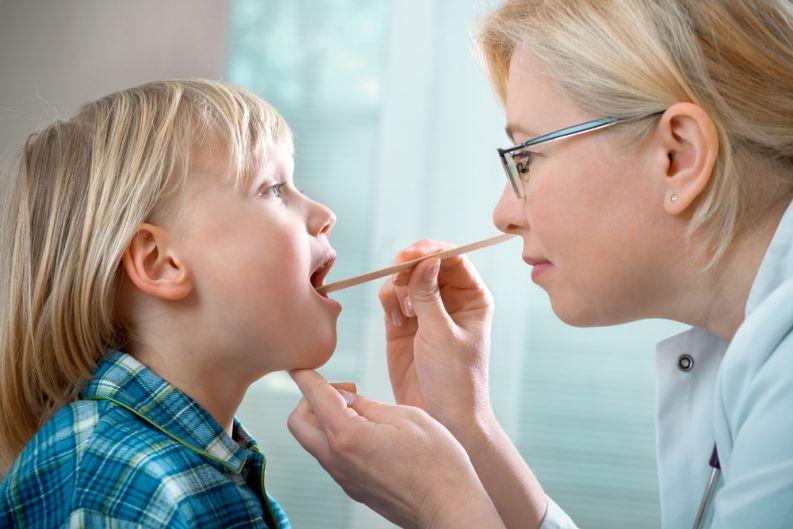 باکتریهای ناحیه گلو باعث بروز عفونت استخوان در کودکان میشوند