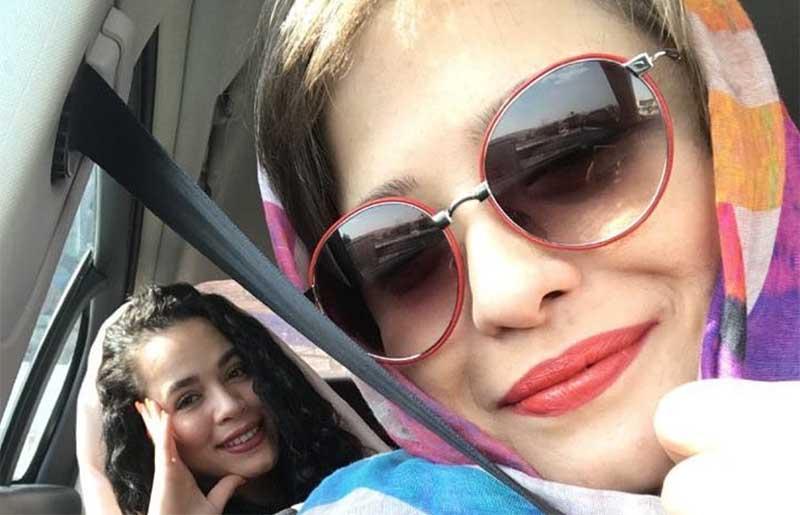 خوشگذرانی مهراوه و ملیکا شریفی نیا + عکس
