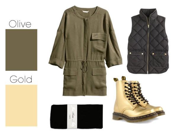 ترکیب رنگ های مناسب لباس های پاییزی