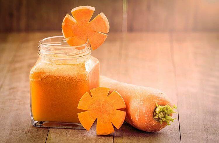 فواید بی نظیر آب هویج برای کاهش وزن