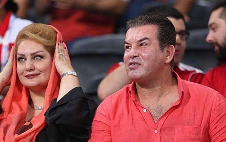 تیپ متفاوت حمید استیلی و همسرش در امارات + عکس