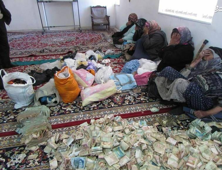 اموال و دارایی چند متکدی تهرانی در خانهشان!  + عکس