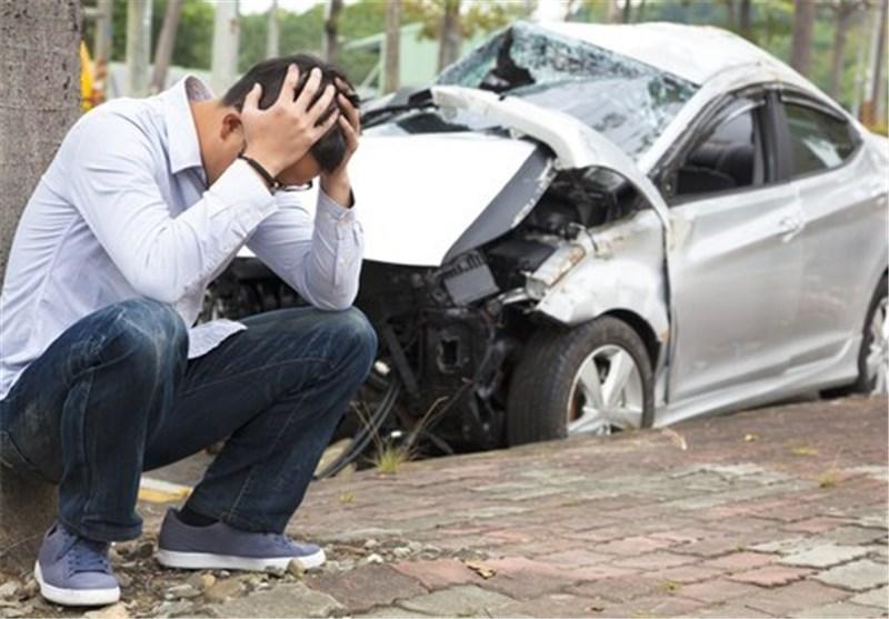 عامل نیمی از سوانح رانندگی