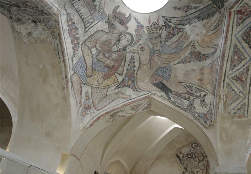 حمامی ۴۱۲ ساله وقفی با ۱۳ لایه نقاشی+ تصاویر