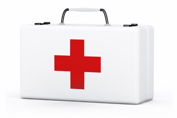 جعبه کمک های اولیه برای دندان ها