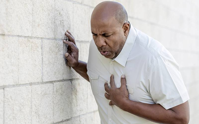 درد های قفسه سینه وعلل آن